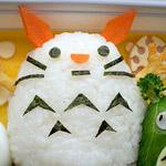 Thumbnail image for bento #31: Totoro snowman