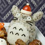 Thumbnail image for Bento #80: Santa Totoro!