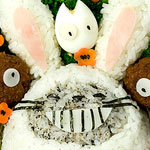 Thumbnail image for Bento #81: Year of the Totoro bunny