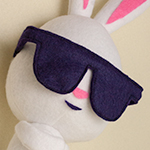 "Thumbnail image for stuffed stuff: Cool Bunny from the Last of Us DLC ""Left Behind"""