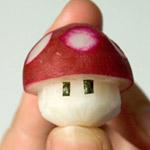 Thumbnail image for how to make a radish mushroom