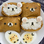 Thumbnail image for How to make Rilakkuma inari-zushi