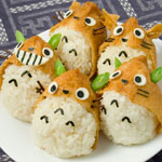 Thumbnail image for How to make Totoro inari-zushi