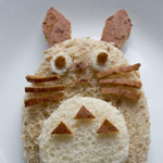 Thumbnail image for how to make Totoro peanut butter sandwich