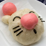 Thumbnail image for non-bento #8: Moogle and Boo Ghost steam buns