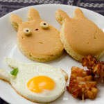 Thumbnail image for Non-bento #35: Totoro breakfast