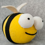Thumbnail image for stuffed stuff: death bee from Invader ZIM