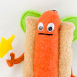 Thumbnail image for stuffed stuff: Hot dog Fairy PAX exclusive