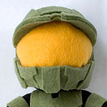 Thumbnail image for stuffed stuff: Master Chief Plush