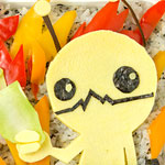 Thumbnail image for Bento #87: Alien Hominid bento