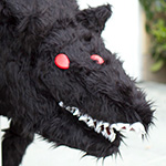 Thumbnail image for stuffed stuff: Wolfmother ver. 2 from Sword & Sworcery
