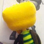 Thumbnail image for stuffed stuff: Making of Raz from Psychonauts