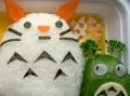 Bento #31: Totoro Snowman