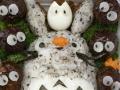 Bento #58: Sitting Totoro