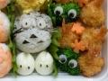 Bento #75: Totoro temari sushi
