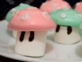 How to make meringue Mario Mushrooms