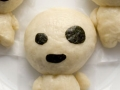 How to make kodama, moogle and boo ghost steamed pork buns
