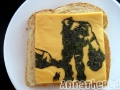 Non-bento #2: Shadow of the Colossus grilled cheese sandwich