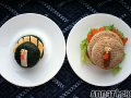 Non-bento #4: Turkey onigiri & Turkey sandwich