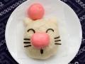 Non-bento #8: Moogle & Boo Ghost steam bun