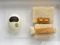 Non-bento #11: M-O sandwich and EVE egg