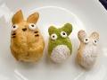 Non-bento #12: Totoro cream puffs