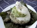 Non-bento #21: Totoro kagami-mochi onigiri