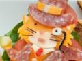 Non-bento #41: Twisp & Catsby cheeseburgers