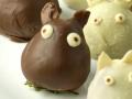 Non-bento #44: Chocolate Covered Strawberry Totoro
