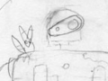 Bento #17: Laputa Robot with Fox Squirrel