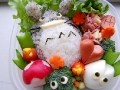 Totoro bento by Sohyun Han, Created/posted on 2/27/2010