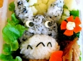 Totoro bento by PiggyMummy, Created/posted on 1/27/2011