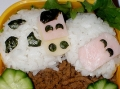 Cow and sheep bento by Angel, Created/posted on 5/8/2011