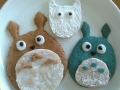 Totoro cookies by Meghan, Created/posted on 8/82011