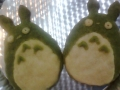 Totoro cookies by Tipa, Created/posted on 11/9/2011