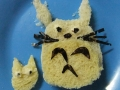 Totoro sandwich by Sae Hee, Created/posted on 4/13/2012