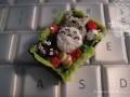 Miniature Totoro bento by asuka sakumo, Created/posted by 5/1/2009