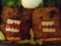 Domo-kun croquettes by Meagan, Created/posted on 9/15/2009