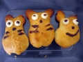 Totoro cream puffs by Komal, Created/posted on 7/13/2011