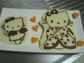 Hello kitty chocolate by Yanna, Created/posted on 5/18/2011